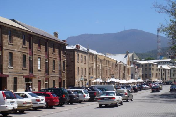 Salamanca Place, Hobart, Richard White