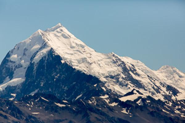 Mount Cook - Alfred Schulte - Inala Nature Tours