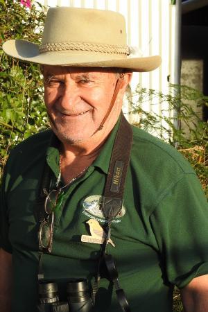 Darryel (Biggles) Binns - Inala Nature Tours - Specialist Birding Guide